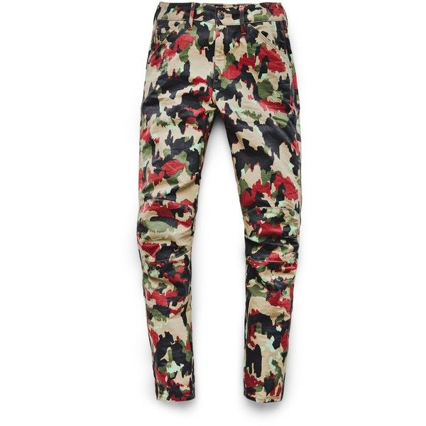 G-Star RAW G-Star Elwood X25 3D Boyfriend Women's Jeans found on Polyvore featuring polyvore, women's fashion, clothing, jeans, camoflage jeans, g star raw jeans, camouflage jeans, camo jeans and camo print jeans