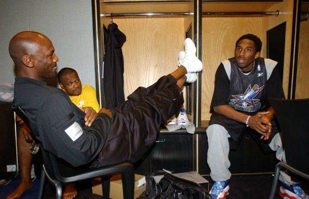 Michael Jordan, Kobe Bryant, and Antoine Walker