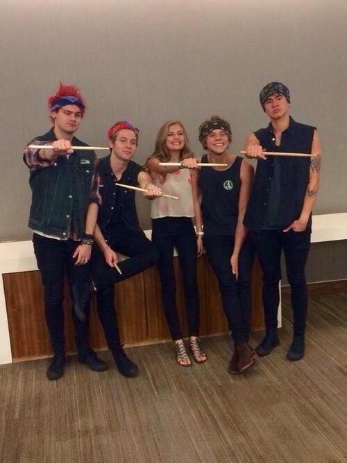 Wednesday is dress up as Ashton day. Lol ---- O_o