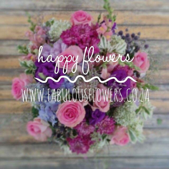 """Flowers that make you happy. www.fabulousflowers.co.za #fabulousflowers #flowershop #florist #flowersofinstagram #instagood #instalove #instadaily…"""