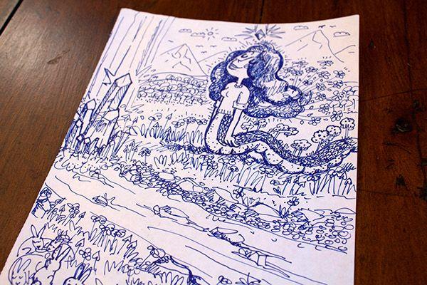 Behance :: Editing Happy Drawings