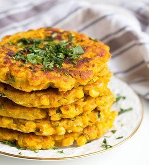 Leckere, glutenfreie Mais Patties, die schnell gemacht, vegan, soja- und nussfrei sind! Gesund schlemmen kann so einfach sein!