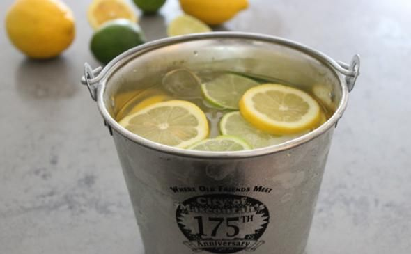 Oh those college days...gin bucket recipe.