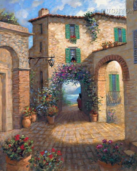 Landscapes - Italy - Italian Beauty - McNaughton Fine Art Company