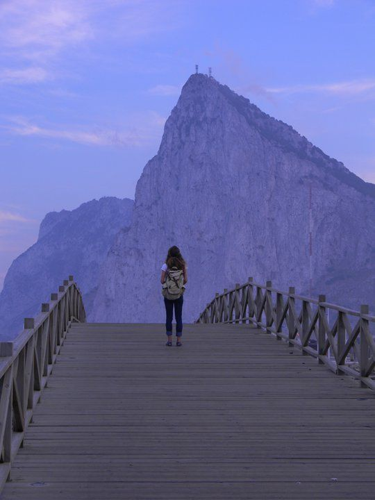 "The Rock of Gibraltar... yes, truly a ""weird and awesome"" place all at the same time."