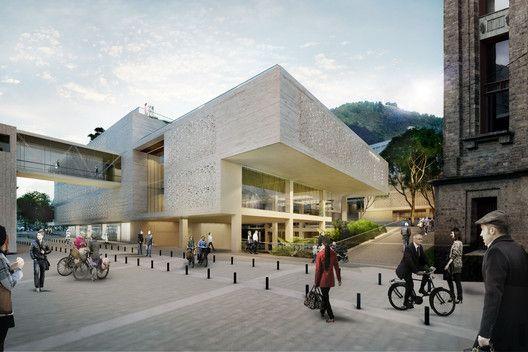 Conoce el futuro centro cívico universitario diseñado por Konrad Brunner y Cristián Undurraga en Bogotá,Cortesía de Cristián Undurraga + Konrad Brunner