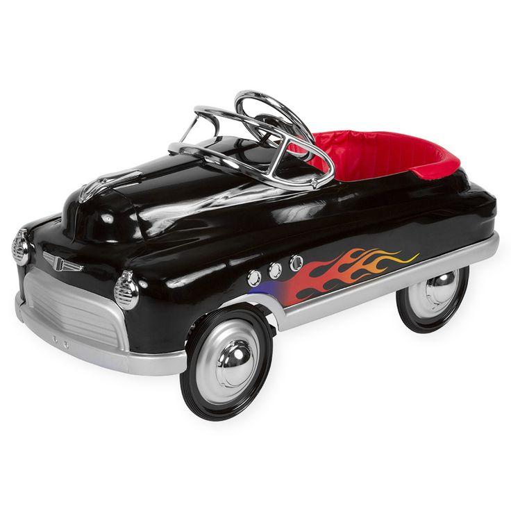Black Hot Rod Comet Pedal Cars