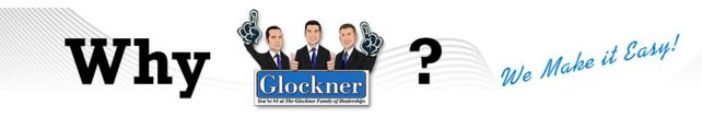 Why Shop Glockner Family of Dealerships?   Over the next couple of weeks we will share SIX very important reasons why you should get your next ride at one of our Glockner Family of Dealerships.   Here is reason the first reason.        1.  Live Market Pricing   You shouldn't have to haggle over price when it comes to the vehicle of your dreams. This is why we price our inventory using Live Market Pricing. By determining the prices of our vehicles based on what others are paying in the…