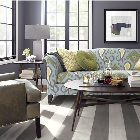 Olin Grey Rug In Area Rugs | Crate And Barrel