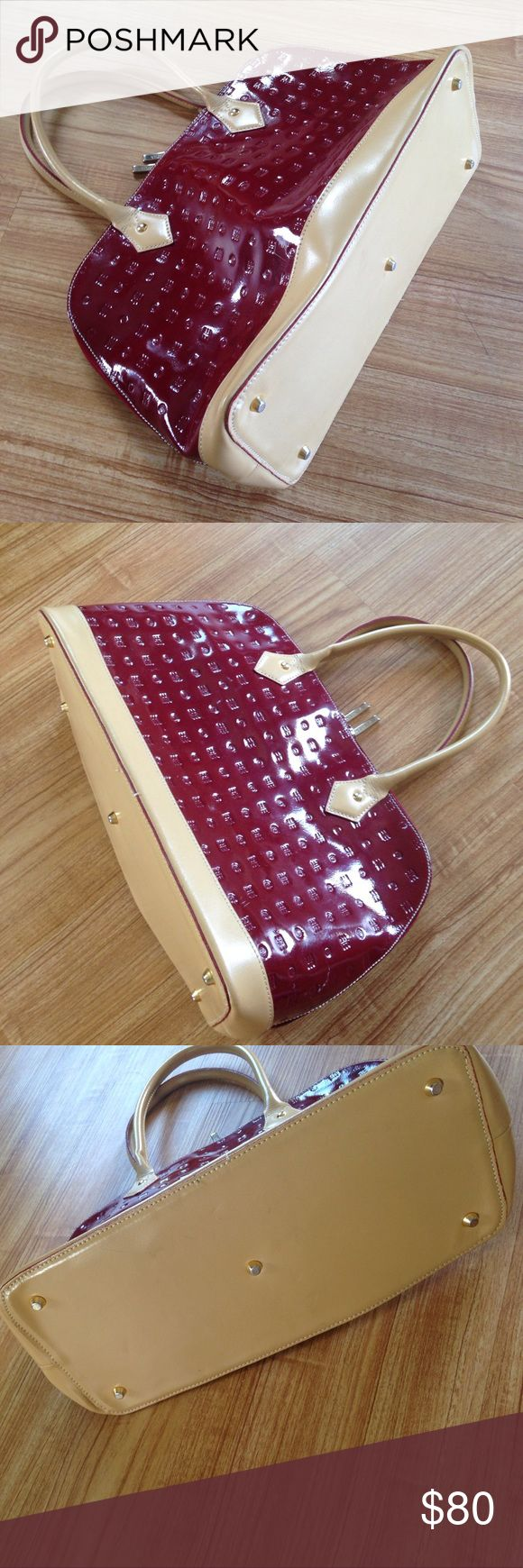 Sale...Arcadia purse Used in very good condition no damage. Color is more Burgundy then red arcadia Bags Satchels