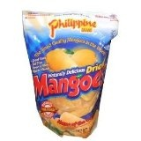 Phillippine Brand Naturally Delicious Dried Mangoes Tree Ripened Value Bag 30 Ounces Dried Mango (Misc.)By Phillippine Brand