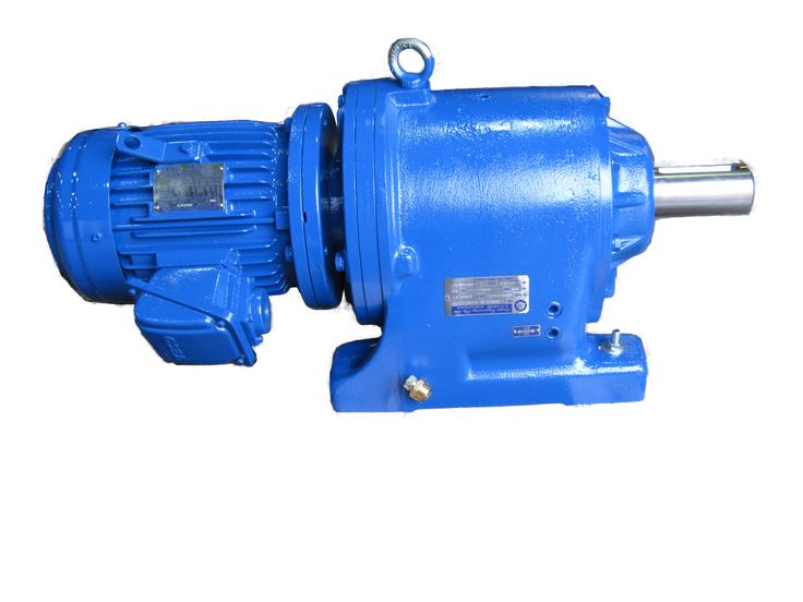 Genat & Wood™ 1640 gearbox with motor. Call Amiga Engineering™ for a quote!