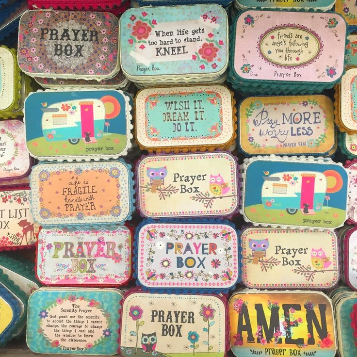 Prayer Boxes make such a sweet gift!