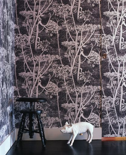 Atelier Julia: Cow Parsley wallpaper by Cole & Son