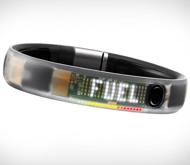 Nike Fuel Band. Really wish I hadnt bought mine, the new ones are so cool!
