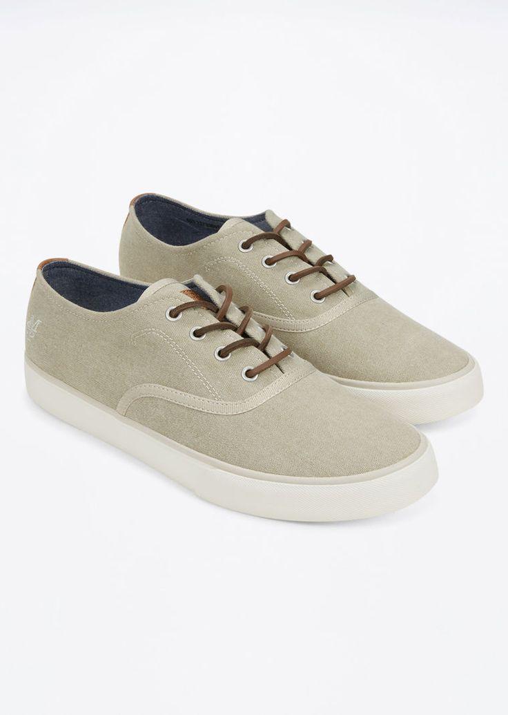 MARC O'POLO, Herren, Schuhe & Accessoires, Schuhe, Sneaker, aus gewaschenem Canvas