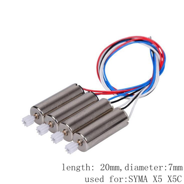 5.94$  Buy now - http://aliaiv.shopchina.info/go.php?t=32793129057 - 4pcs Motor For Syma X5 X5c Jjrc H5c M68 Cw Ccw Brush Engine Rc Drone Spare Parts Quadcopter Accessory Dron Kit Moto  #magazineonlinewebsite