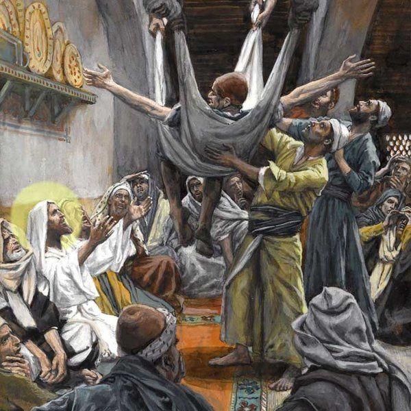 """Predică la duminica """"vindecării slăbănogului din Capernaum""""."""