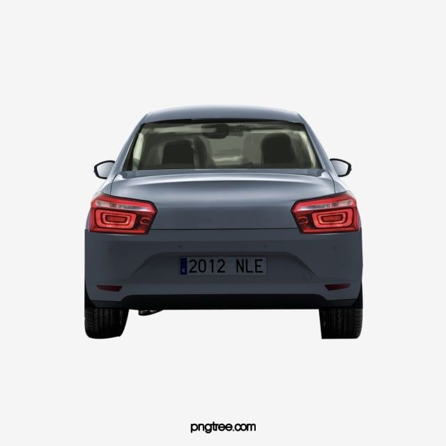 Car Rear Png And Psd Car Black And White Posters Clip Art