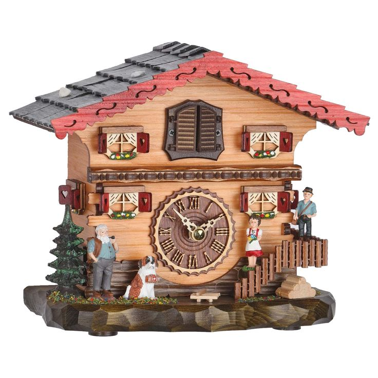 Cuckoo Clock, Quartz, with Cuckoo and Music