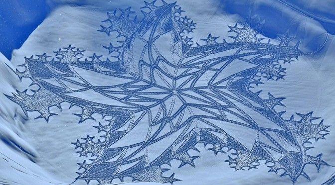 Изкуство в снега