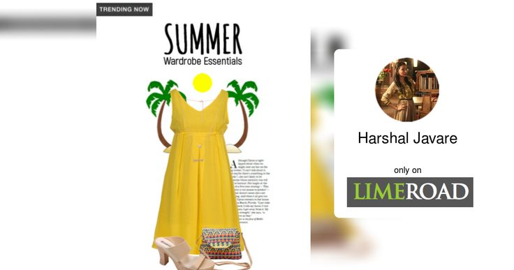 Check out what I found on the LimeRoad Shopping App! You'll love the look Summer Wardrobe Essentials. See it here https://www.limeroad.com/scrap/58c40d81a7dae85d06b246c1/vip?utm_source=cef0cb6dd5&utm_medium=android