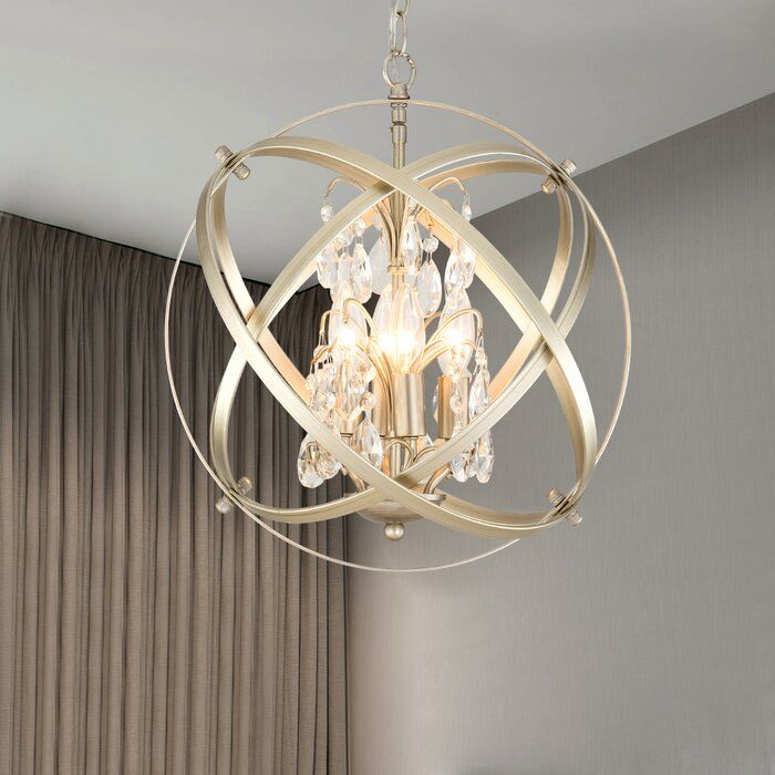 Philbrick 4 Light Unique Statement Globe Accent In 2020 Gold