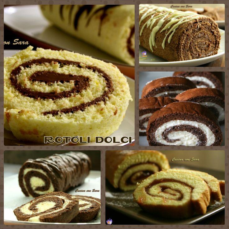 Rotoli dolci - raccolta ricette