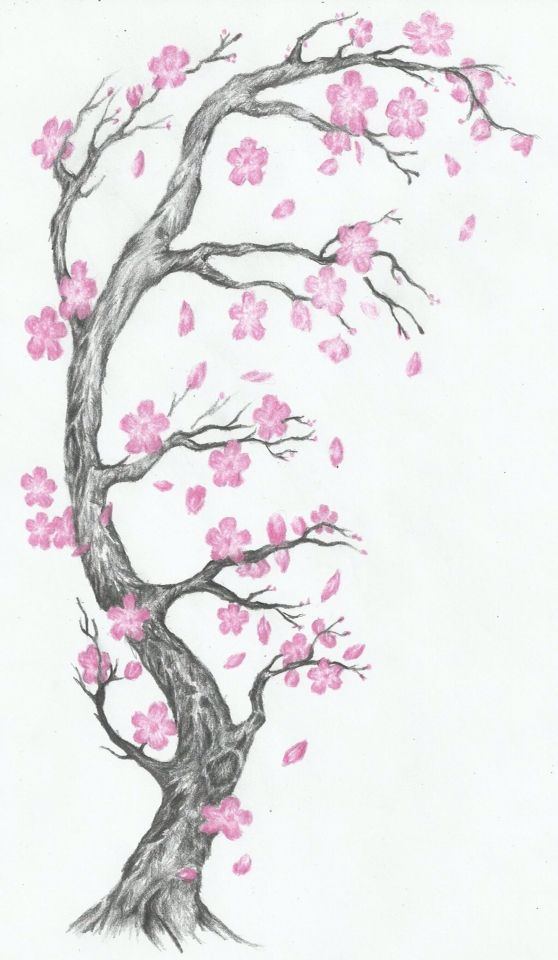 Cherry blossom I want on my back