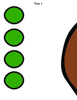 """Pin the button on the gingerbread is a game where children will pin the button to the gingerbread man. It is a 3x3 grid PDF printout and once you put it together with tape or laminate it you will have a 25""""X32 1/2"""" gingerbread man to play with."""