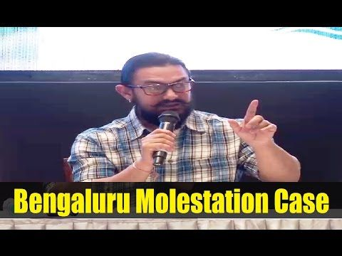 Aamir Khan reacts on Bengaluru Molestation incident happened on New Year Eve.