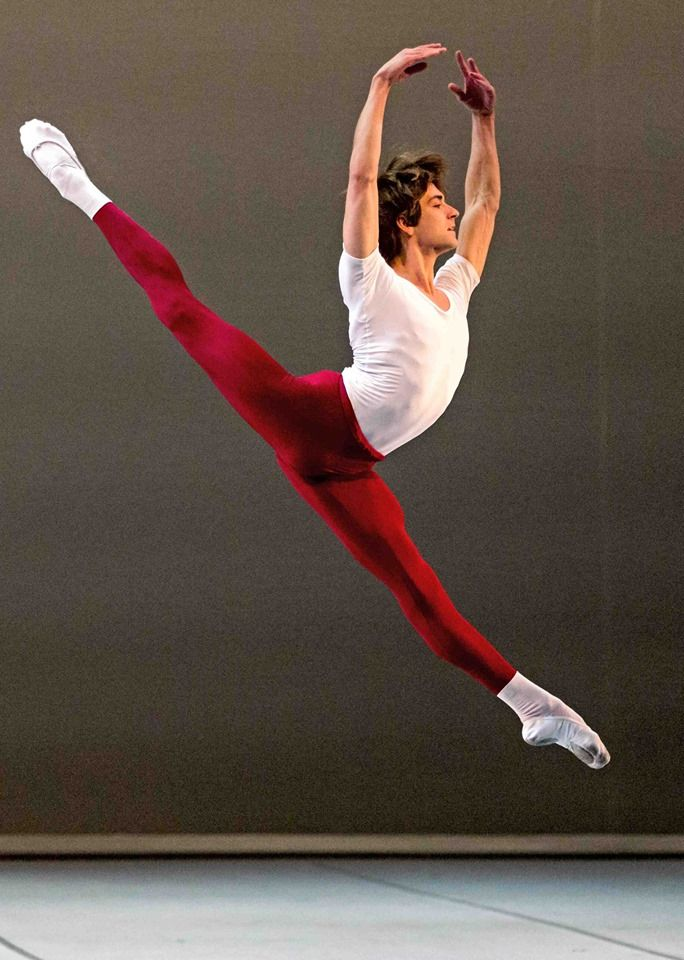 Friedemann Vogel - Stuttgart Ballet. Photo - Mikhailovsky Theatre