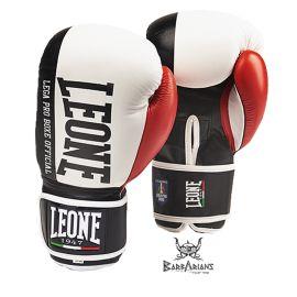 """Gants de boxe Leone 1947 """" Contender """" Blanc"""