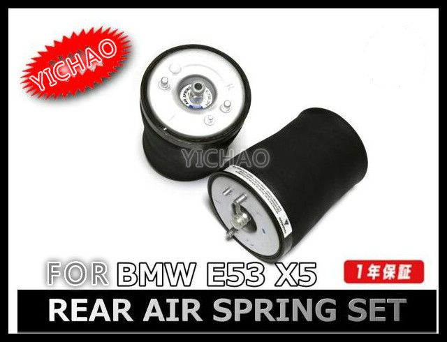 2Pcs Pair of Rear Left + Right Air Suspension / Air Spring for BMW car E53 X5 37121095579 / 37121095580