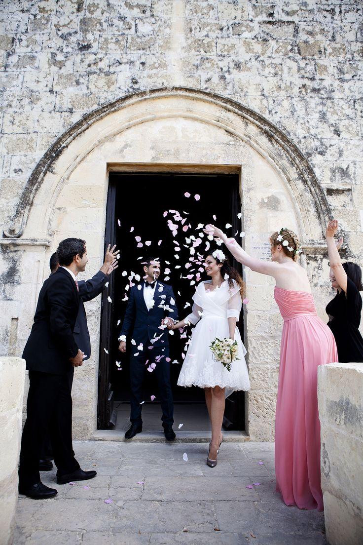 Old Maltese Chapel where the bride and the groom said I do #wedding #honeymoon #Malta #Mediterranean