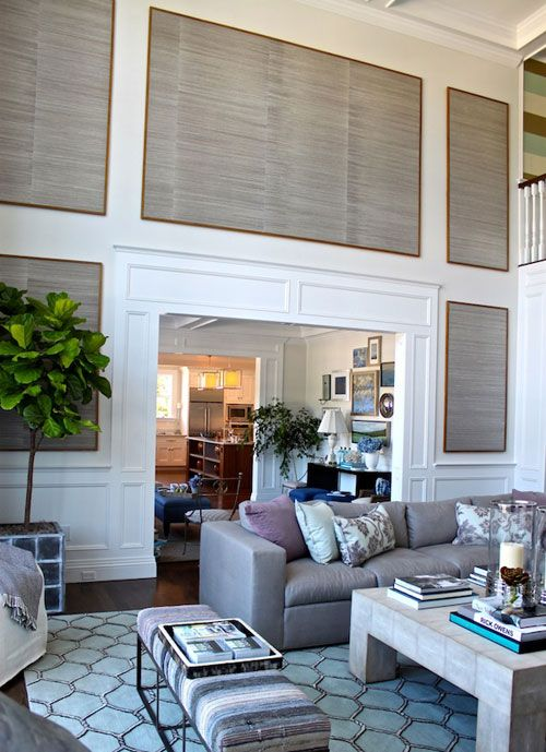 17 best ideas about decorating tall walls on pinterest