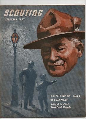 Robert Baden-Powell Boy Scouts of America 1957 SCOUTING Magazine Bio of B-P RARE | eBay