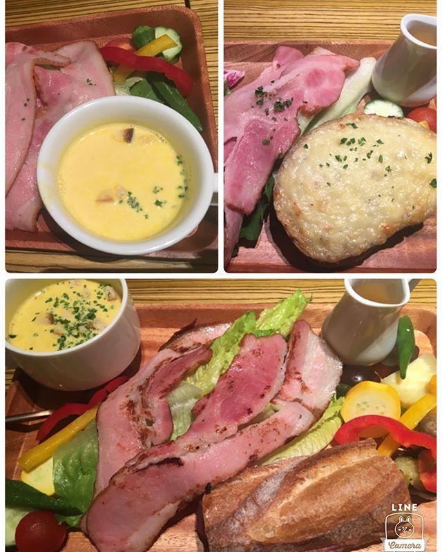 広島グルメ★中区  BIER LOVEN ランチプレート 美味しいけど接客が…(^_^;) ☆☆ #広島#hiroshima#グルメ#food#japan#japanese#japanesefood#ランチ#launch#美味しい#good#カフェ#cafe#レストラン#restaurant#beer#肉#meat#パン#bread#bakery#スープ#soup#サラダ#salad