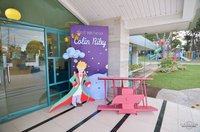 Colin's The Little Prince Themed Party – Entrance Area