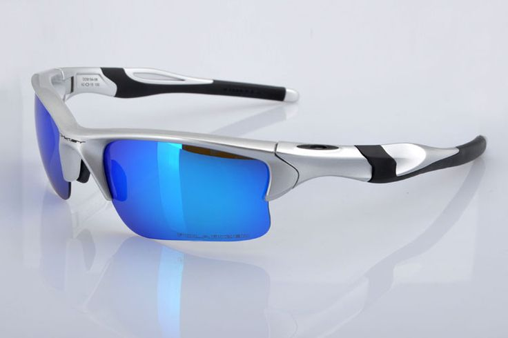 blue and silver oakley sunglasses  popular oakley half jacket 2.0 xl oval sunglasses silver / ice iridium