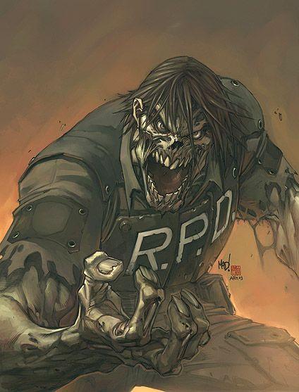 Resident Evil Illustration by Comic Artist Joe Madureira #Comics #VideoGames #Drawing