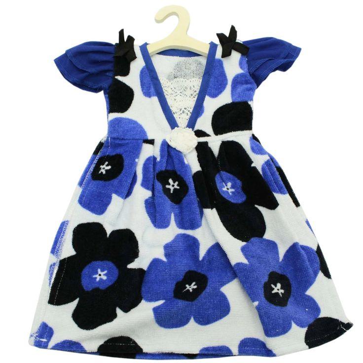 Amazon.co.jp: ドレス型 タオル イロイロット パーティー ドレスタオル 北欧柄 ミニハンガー付き ブルー 34×36cm DE426501: ホーム&キッチン