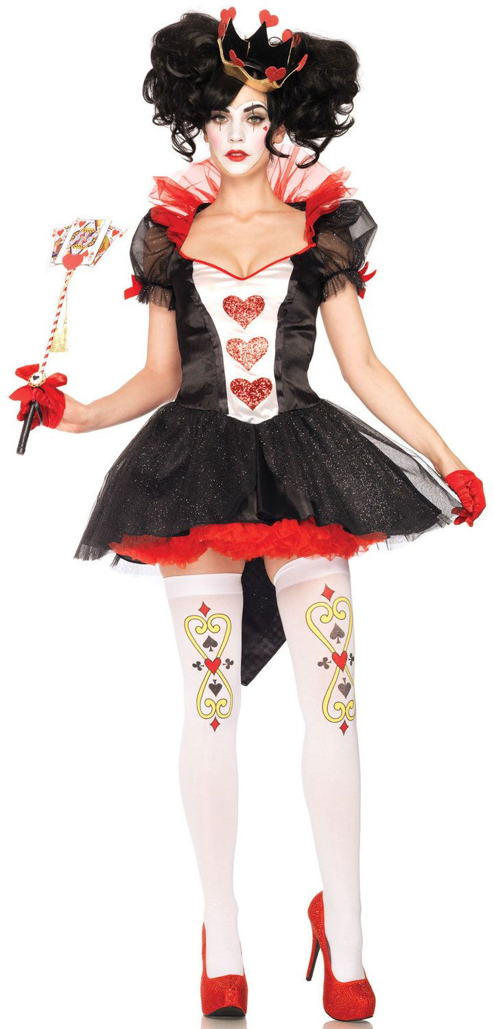 Royal Queen of Hearts Costume-like the hair idea