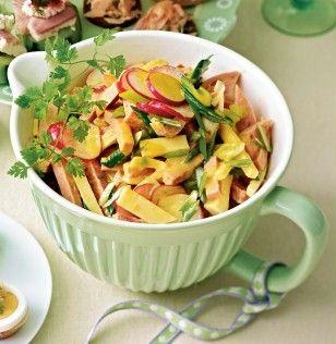 Das Rezept für Käse-Wurst-Salat mit Radieschen und weitere kostenlose Rezepte auf LECKER.de