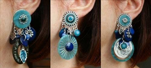 Blauw!   - Leuke clip oorbellen ook in andere kleuren!  http://www.statementpieces.nl/c-931243/clip-oorbellen/