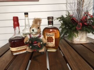 Then squirrelito found the Christmas small batch bourbon