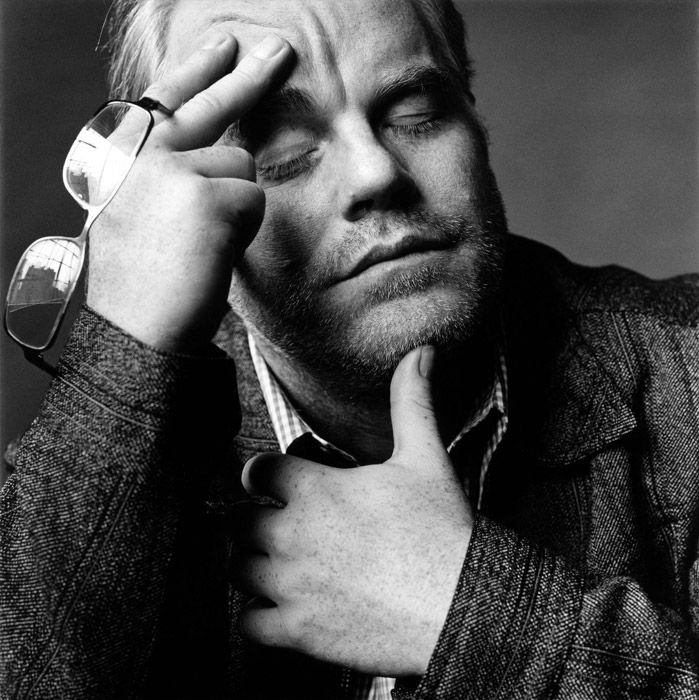Philip Seymour Hoffman by Nigel Parry