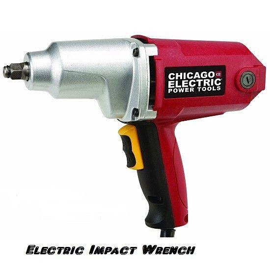 1/2 in. Heavy Duty Electric Impact Wrench 120V Warranty ...