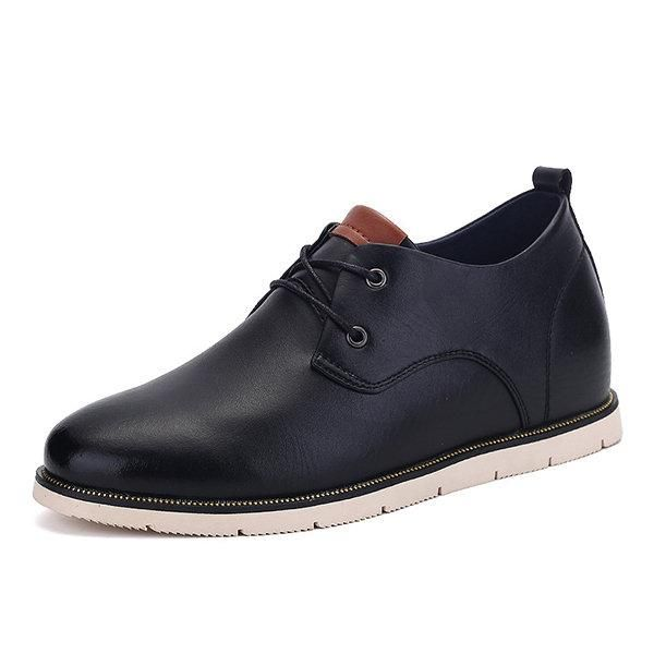 Lace Up Casual Flat Oxford Shoes For Women