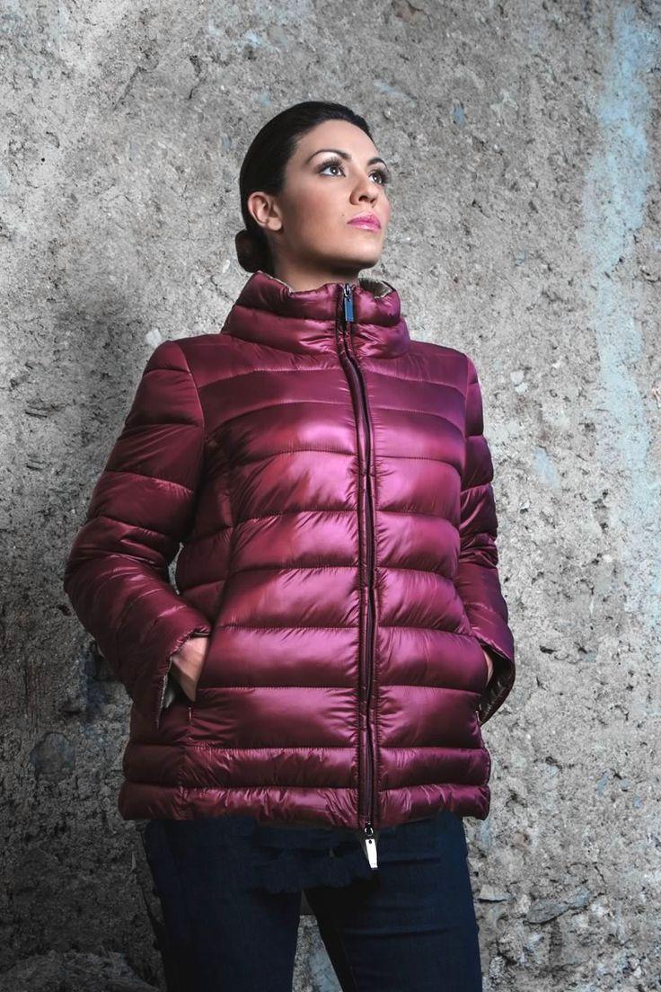 Piumino #LindasOver color  fucsia. Seguici su www.lindas.it